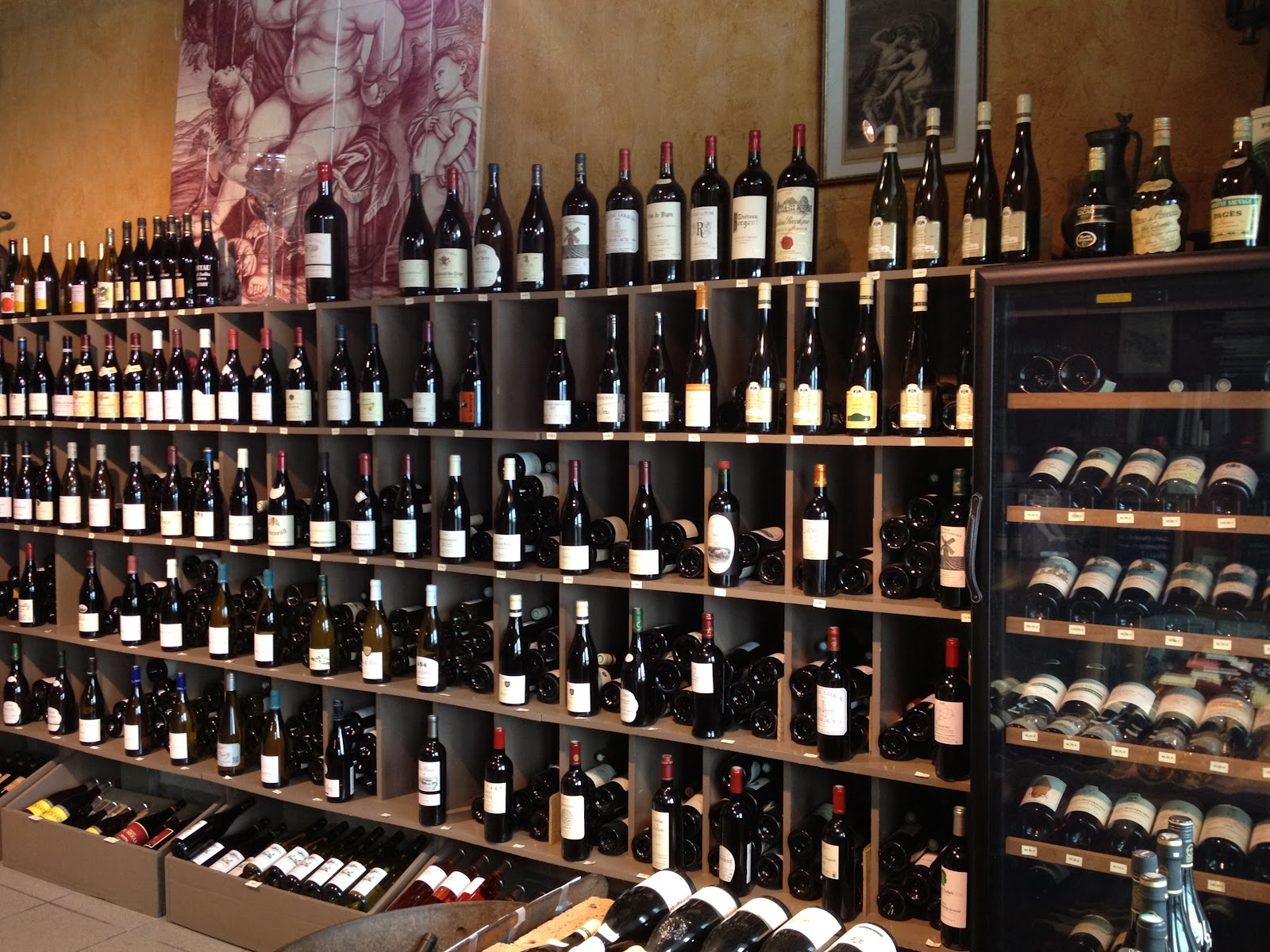On Castellatou0027s shelves established legends like the wines of the late Didier Dageneau sit comfortably besides bottles by potential legends-to-come like ... & not drinking poison in paris: a godsend: bacchus et ariane 75006
