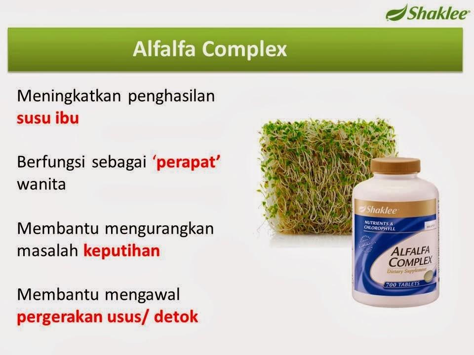 Alfalfa Complex kacip fatimah