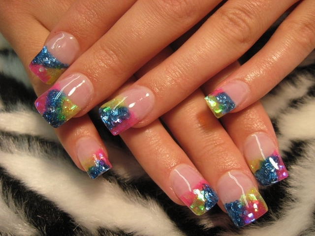 Most beautiful nail art collection corner nail art three part nail design prinsesfo Image collections