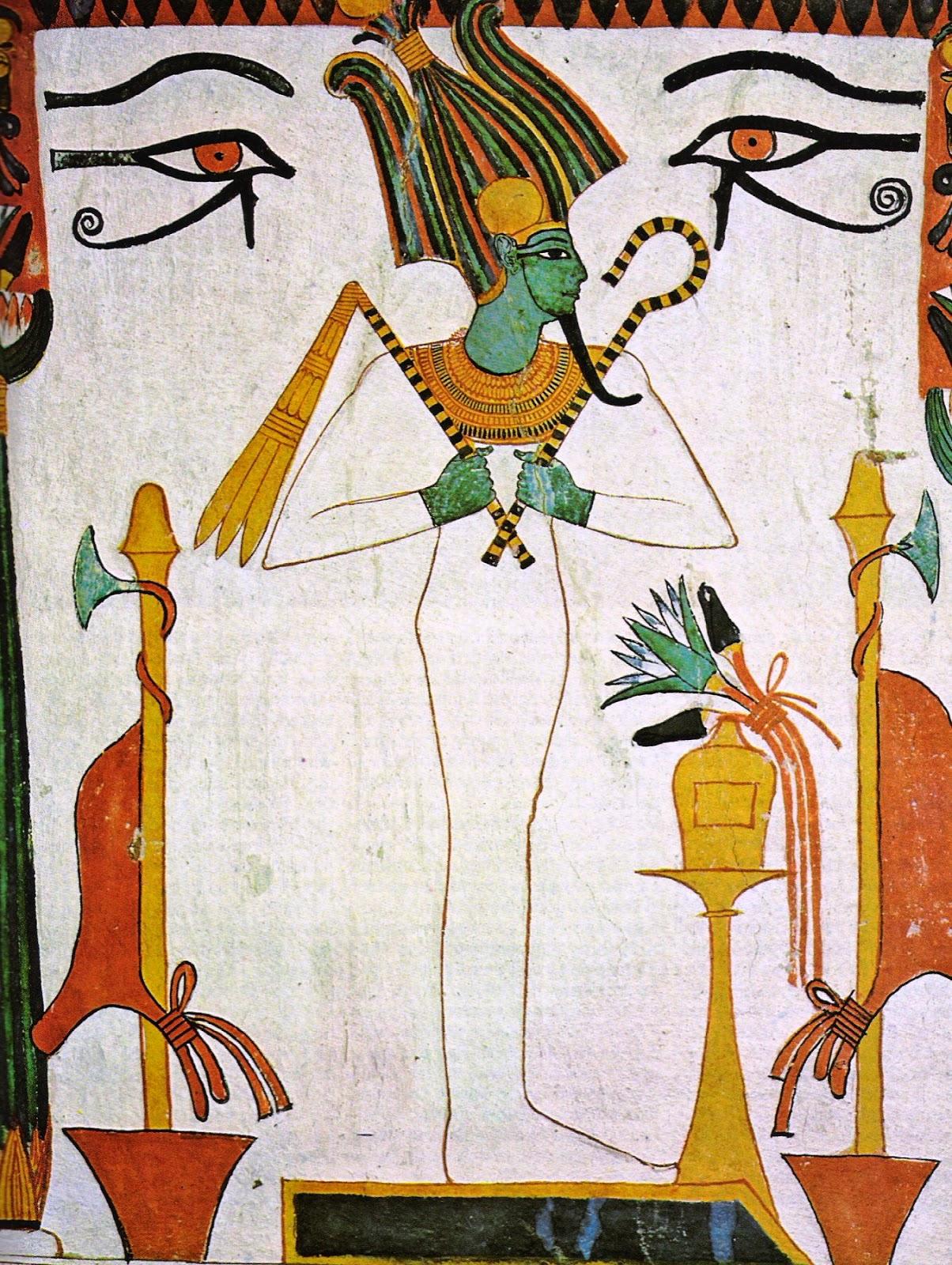 أسم ورمزية اوزيريس وأشكاله وصوره الفصل الأول