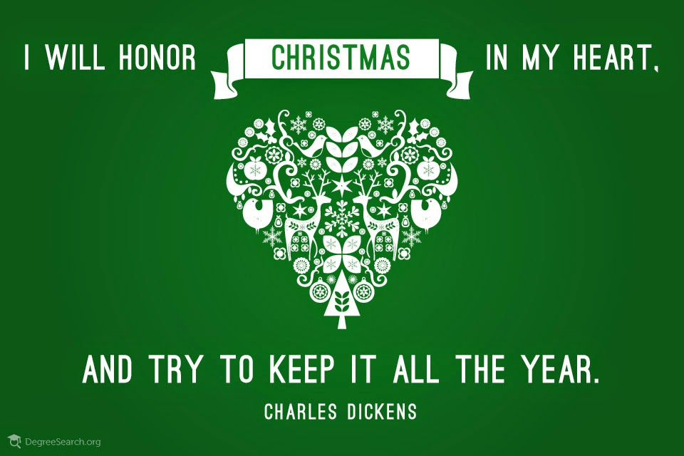 i will honor christmas in my heart christmas quotes - Christmas In My Heart