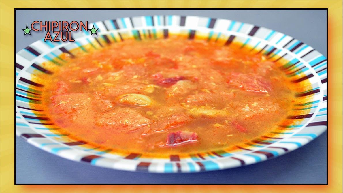 Recetas chipironazul sopa castellana o sopa de ajo - Sopa castellana youtube ...