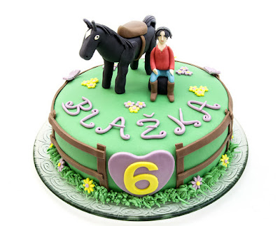 Torta Skrivnostni ranč - Le ranch cake