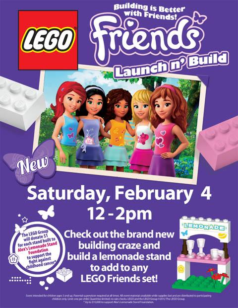 Toys R Us Lemonade Stand : Ann arbor mom build free lego friends lemonade stand