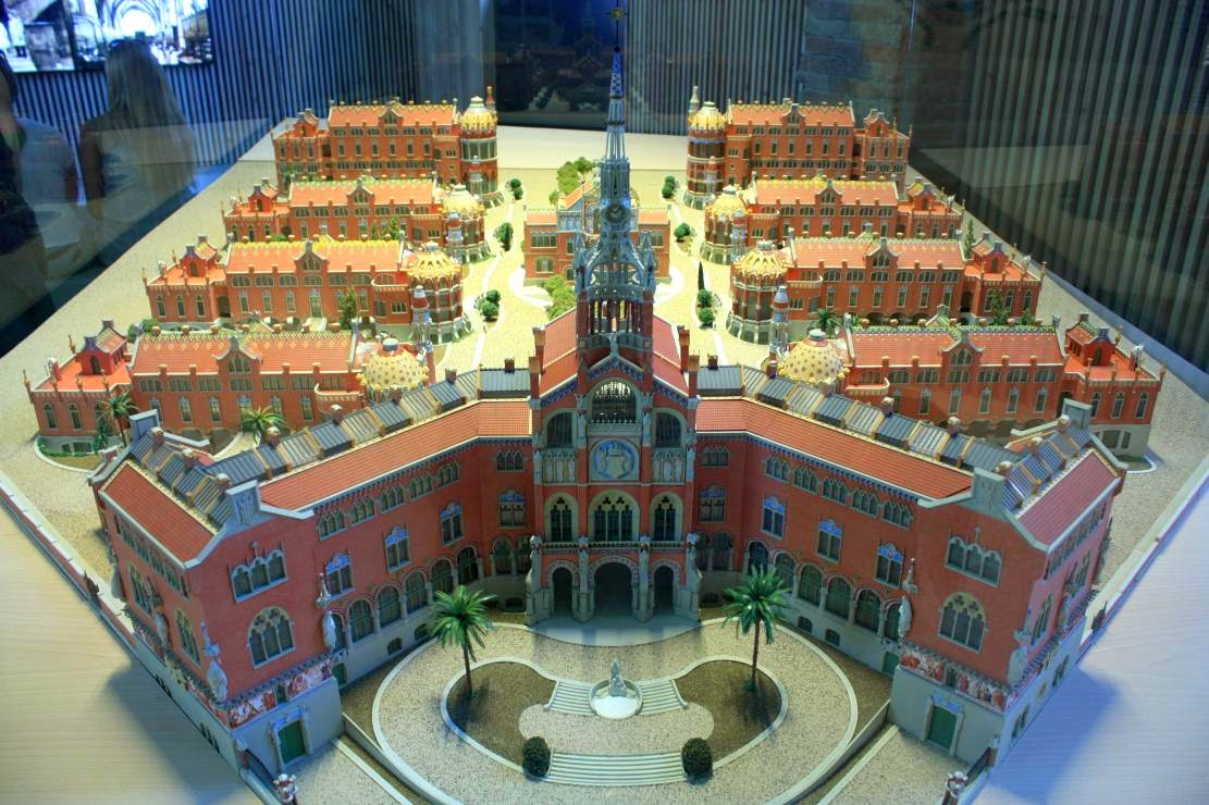 Hospital de Sant Pau in Barcelona