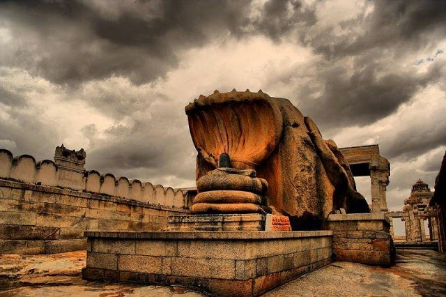 View of Lepakshi temple in Anantapur