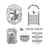 Stampin' Up! Toxic Treats Stamp set, part of the Spooktacular Starter Kit Offer