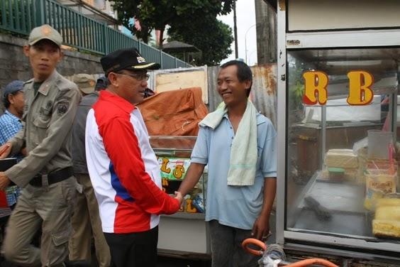 Pemkot Data Seluruh PKL di Sepanjang Jalan Margonda