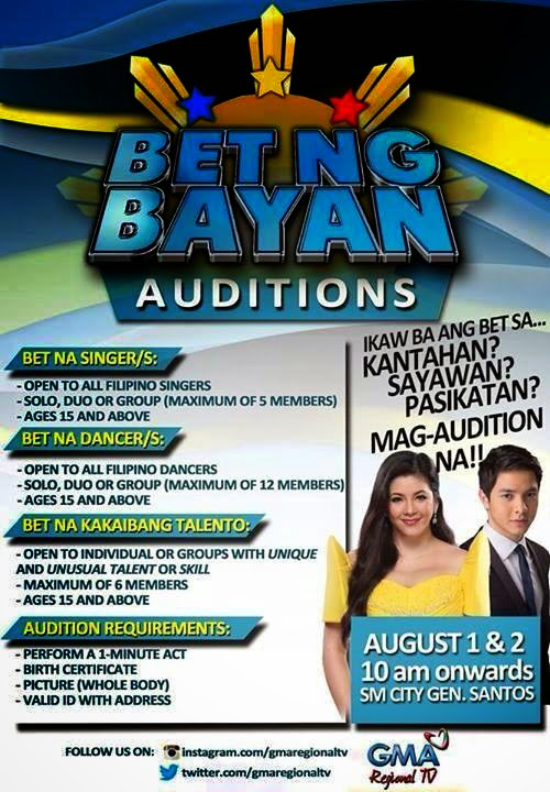 Bet ng bayan auditions