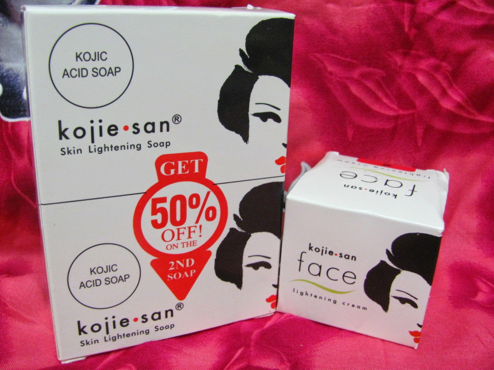 Kojiesan soap and Whitening Cream Pakistan