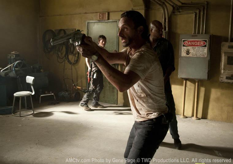 the walking dead 3x04 - Rick y Daryl