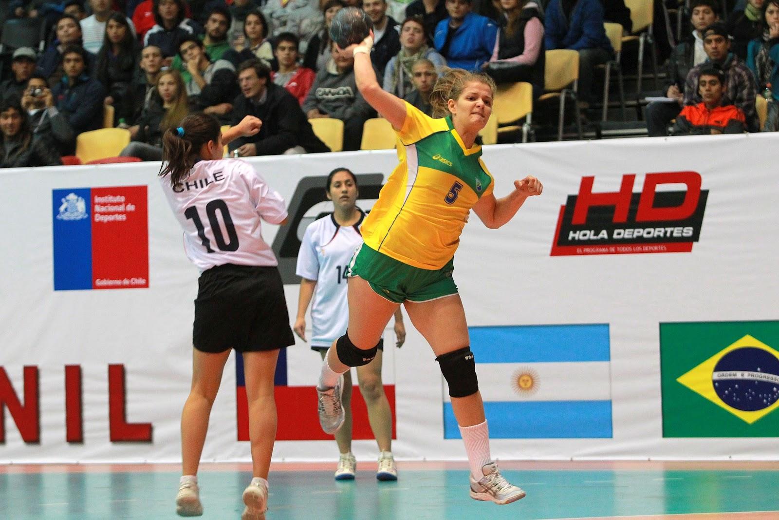 ... no Campeonato Pan-Americano Juvenil Feminino de Handebol e4556e44e6640
