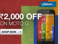 Motorola Moto G Mobile || 8gb @Rs.10499 || 16gb @ Rs.11999 || Back in Stock || Flipkart + 10% CASH BACK FOR SBI CARD
