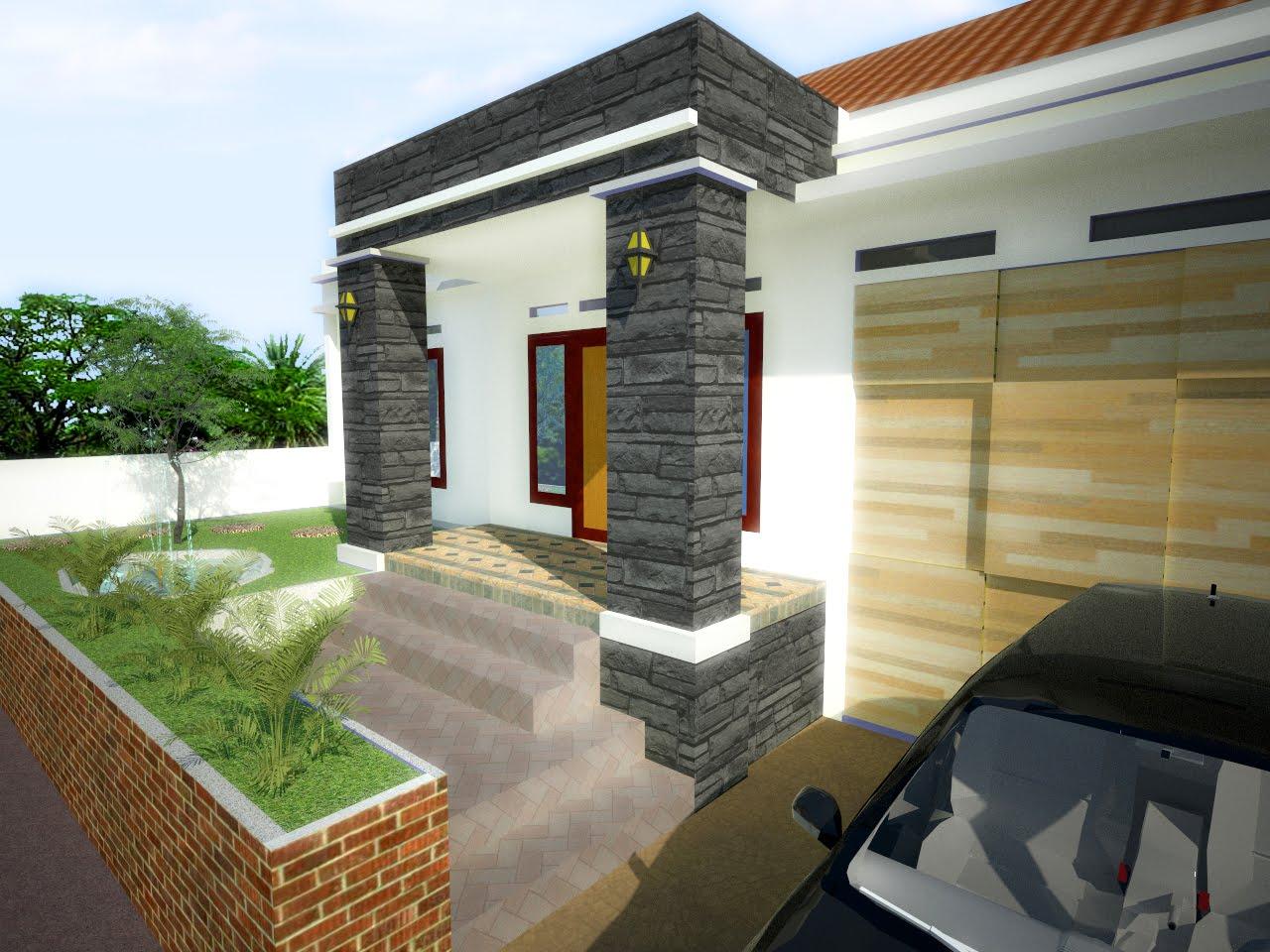 Minimalist home garden ideas for Minimalist house with garden