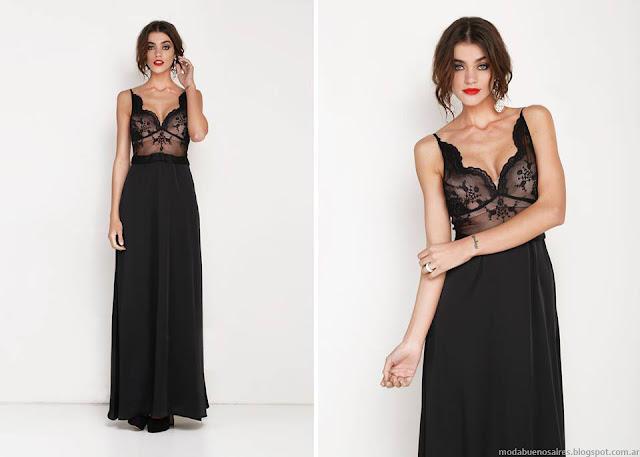 Moda 2016 vestidos de fiesta Agogo. Moda verano 2016.