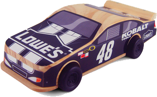 #48 Jimmie Johnson – Lowes' FREE NASCAR Kids Clinic