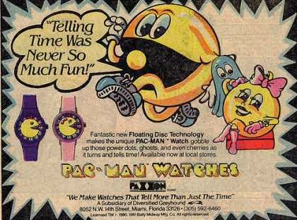 Pac-Man in Print! Some of His Best Adverts From the '80s