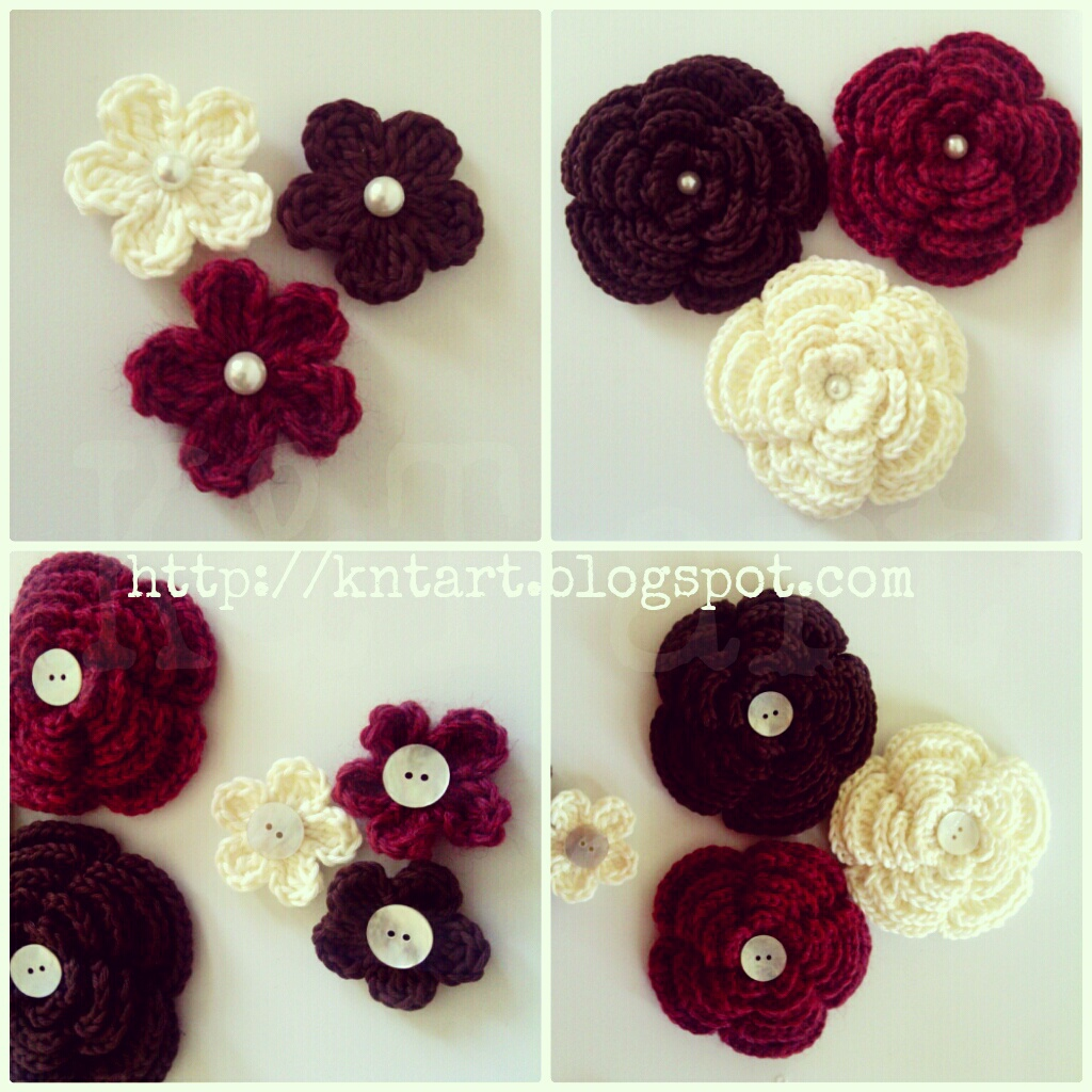Crochet Flower Pattern Small :