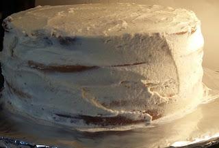 bien lisser le gâteau