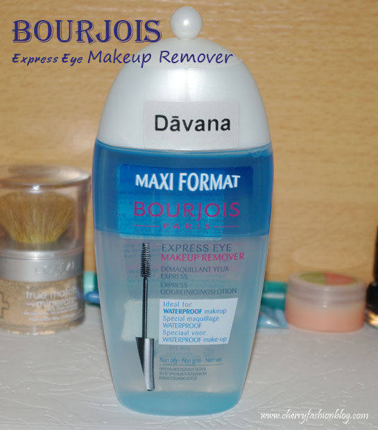 Bourjois Express Eye Makeup Remover, Bourjois Makeup Remover Review, Express Eye Makeup Remover Review