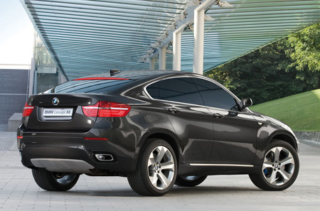 Automatic Transmission on Black Hard Muscles Body Of New 2012 Bmw X6
