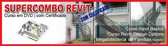 SUPERCOMBO REVIT - PRÉ-VENDA PROMOCIONAL COM MEGABIBLIOTECA DE FAMÍLIAS DE BRINDE!!