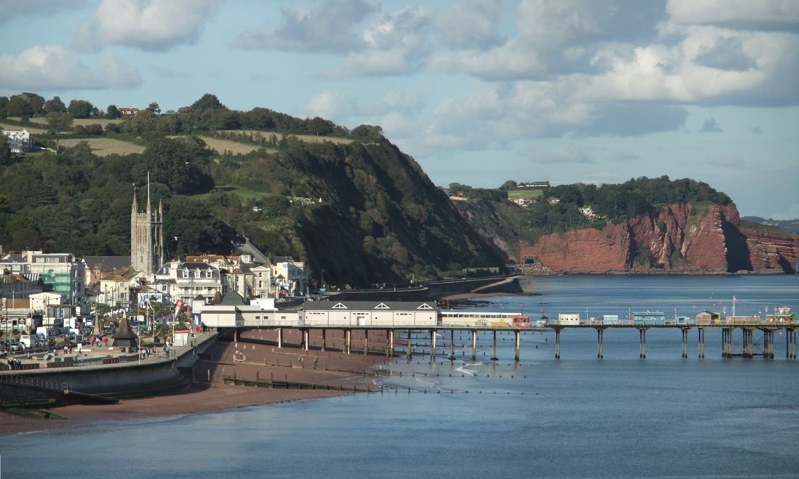 Teignmouth in england