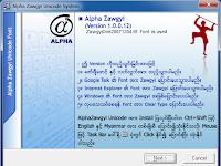 Zawgyi Font For Window 7 32 Bit/ 64 Bit / Window 8/ Android