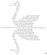 Behold this wonder of a poem: Swan and ShadowJohn Hollander