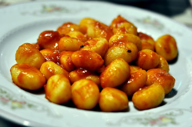 Gnocchi with Tomato and Basil - Vecchia Osteria - Ponte a Bozzone, Italy | Taste As You Go
