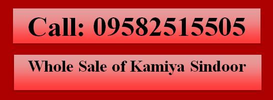 Whole Seller of Kamiya Sindoor