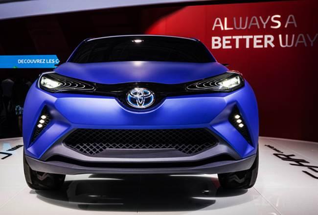 2017 Toyota CH-R Release Date