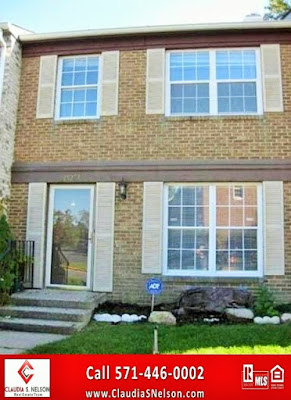 Townhouse For Sale in Woodbridge Virginia By Claudia S Nelson