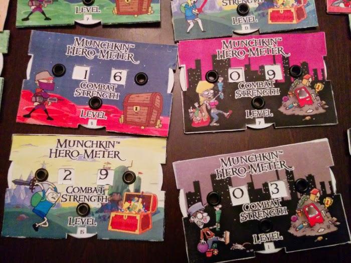 John Wesorick: Homemade Munchkin Hero-Meters