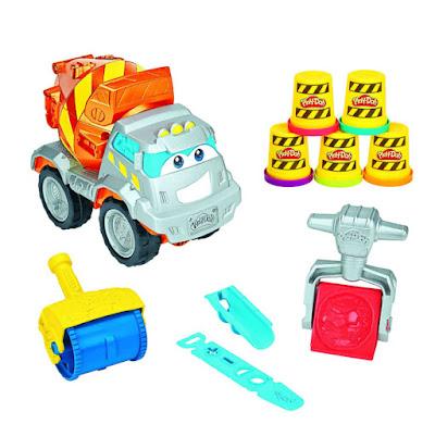 TOYS : JUGUETES - Play-Doh  Max El Camión mezclador de cemento | The Ciment Mixer  Hasbro B1858 | Manualidades - Plastilina | A partir de 3 años  Comprar en Amazon España