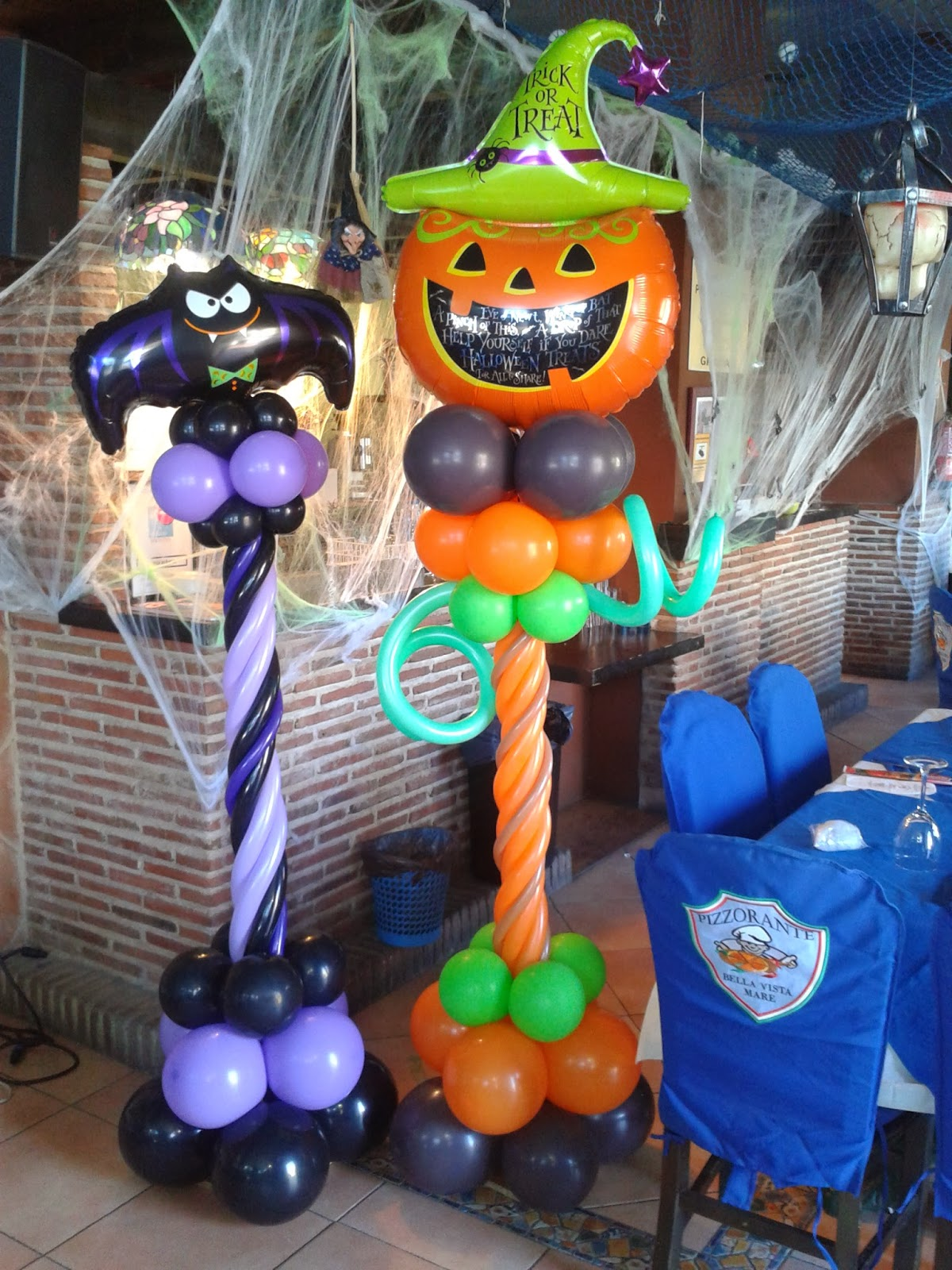 Decoraciones d 39 globos halloween mare d 39 globos - Decoracion para halloween ...