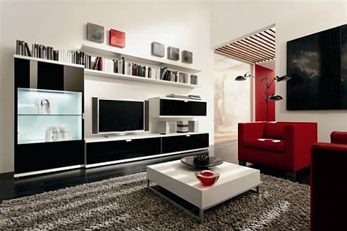 Furniture modern latest Furniture: Modern living room cabinets designs