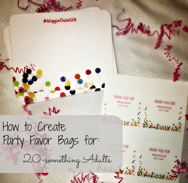Always A Blogsmaid DIY Party Favor Bags For Adults