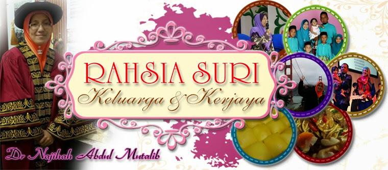 Rahsia Suri: Keluarga & Kerjaya
