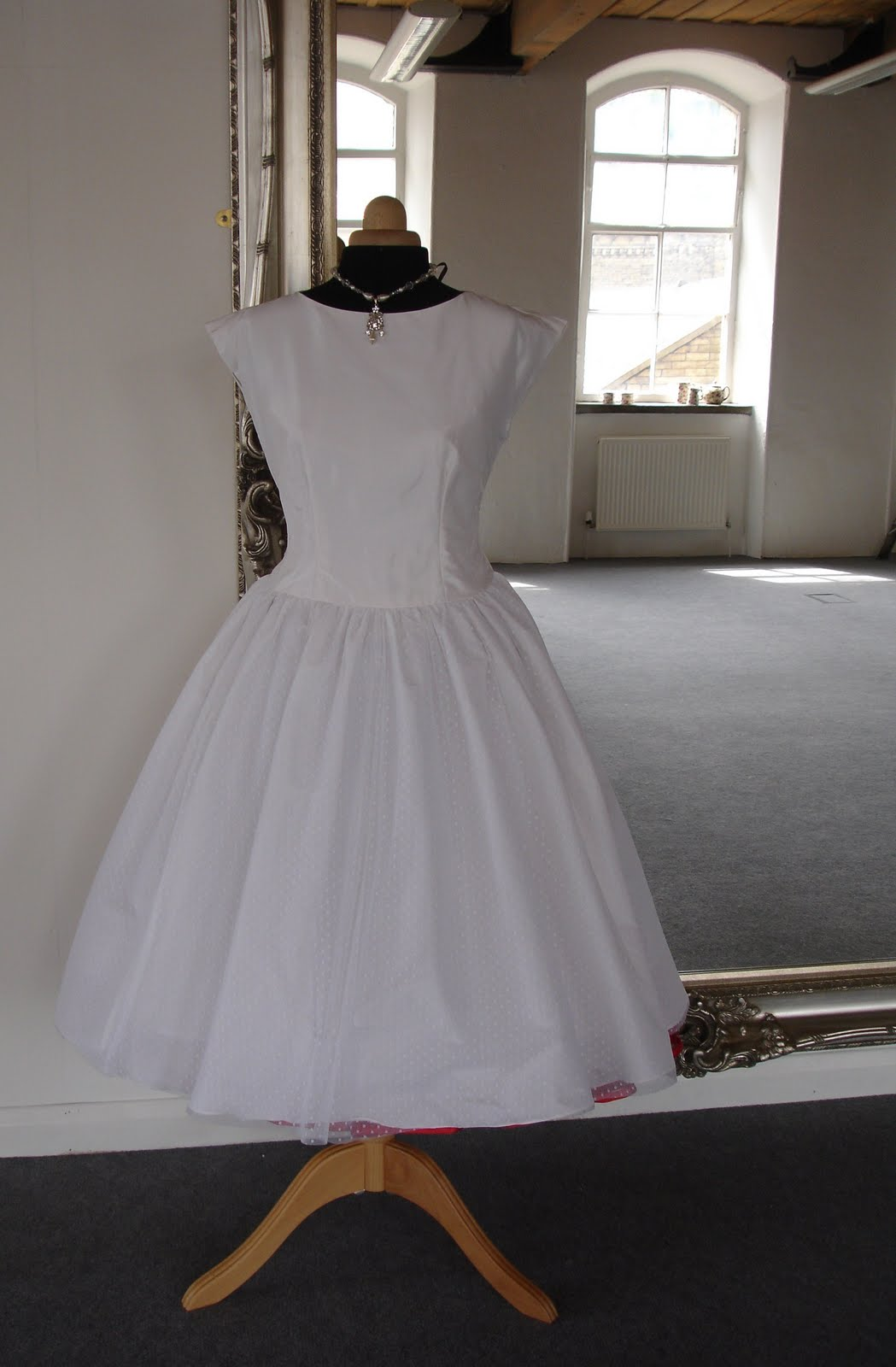 No. 9: Vintage wedding gown for sale.