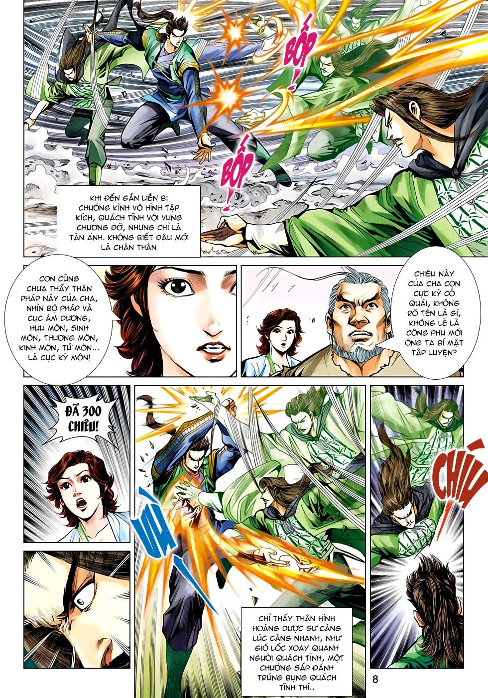 Xạ Điêu Anh Hùng Truyện chap 100 – End Trang 8 - Mangak.info