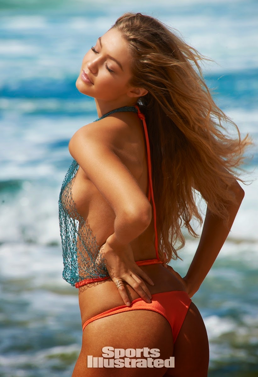 Gigi Hadid shows off bikini body for Sports Illustrated Swim 2015