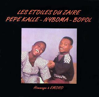 Les Etoiles du Zaïre,Pépé Kallé, Nyboma, Bopol -Hommage à Emoro,Syllart Production
