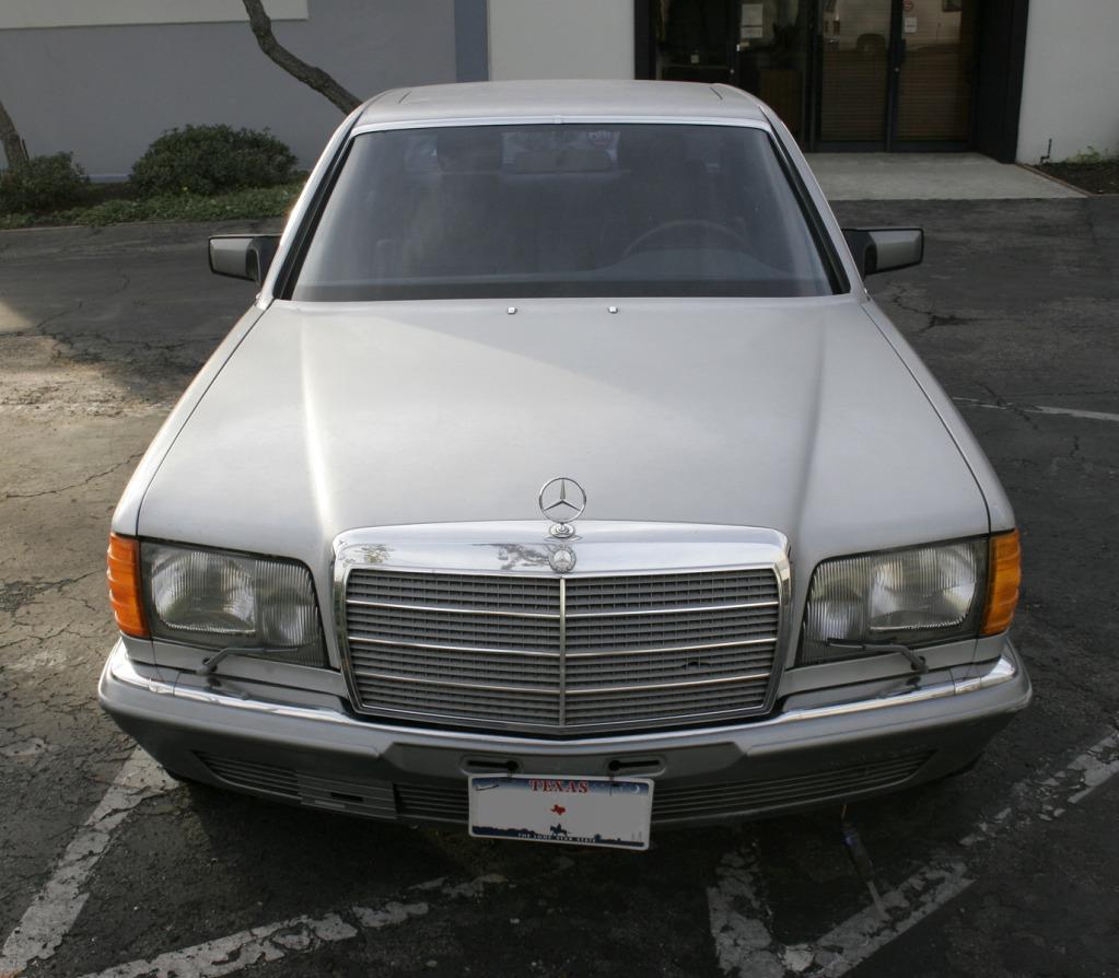 Just a car geek 1983 gray market mercedes benz 500 sel for Mercedes benz 1983