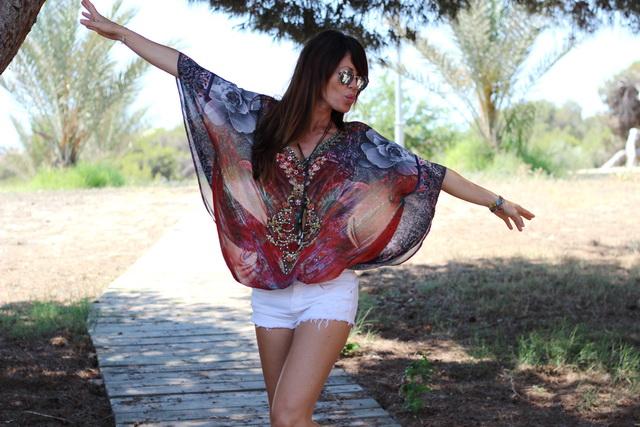 Hippyssidy Tunic - Streetstyle - Guardamar - Joana Arauz - Cuchicuchi