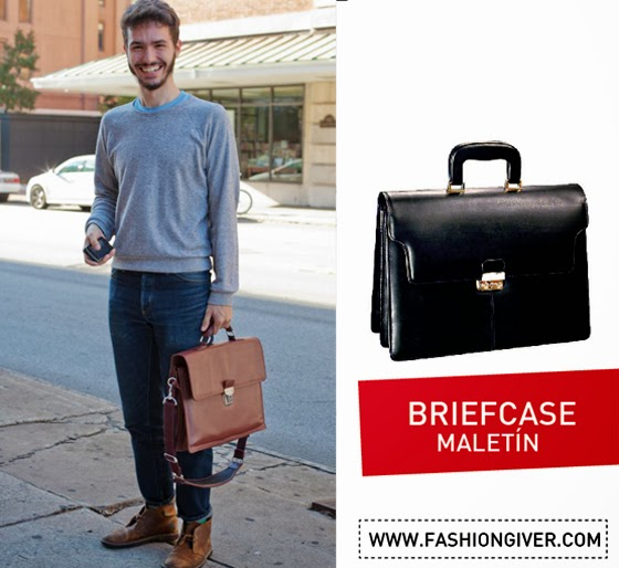 Tipos de Bolsos para hombre / Type of Bags for men
