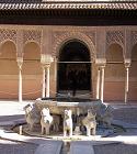 La Alhambra-Patio de los Leones