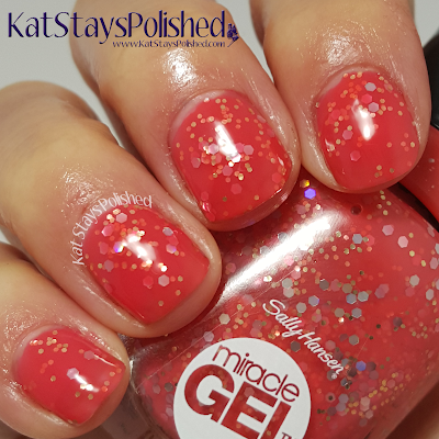 Sally Hansen Reformulated Miracle Gel - Miss Wanderlust | Kat Stays Polished