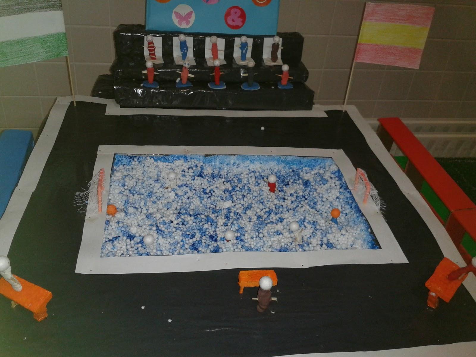 Educaci n f sica maquetas for Como construir piletas de natacion de material
