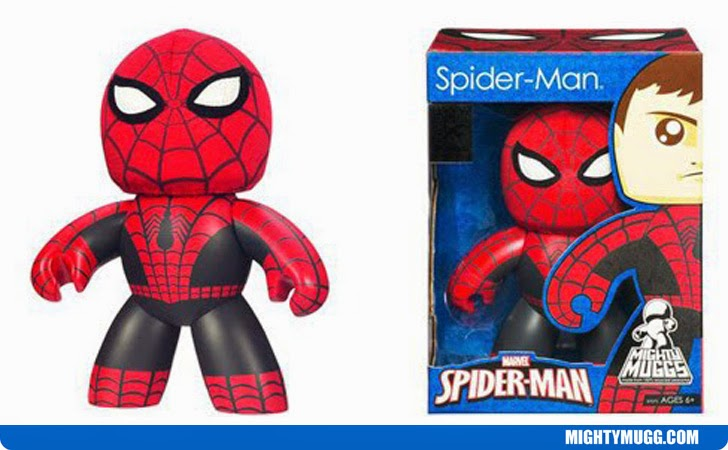 Spider-Man Removable Mask Marvel Mighty Muggs Exclusives